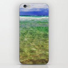 green sea, blue sky iPhone & iPod Skin