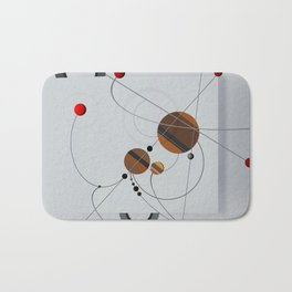 Abstract Composition 440 Bath Mat