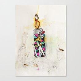 LA Lighter Canvas Print