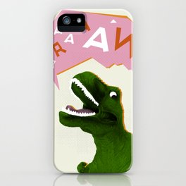 Dinosaur Raw! iPhone Case