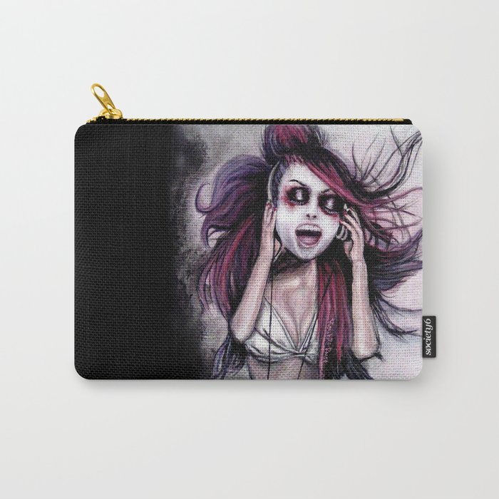 LISTEN TO MUSIC Carry-All Pouch