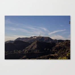I. AM. HOLLYWOOD. Canvas Print