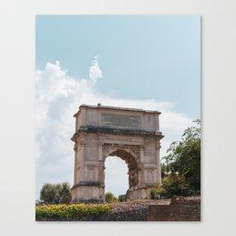 Arco di Tito Canvas Print