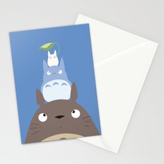 Totoros Stationery Cards