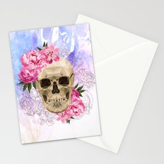 Fancy Skull Stationery Cards