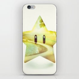 Super Star - Kart Art iPhone Skin