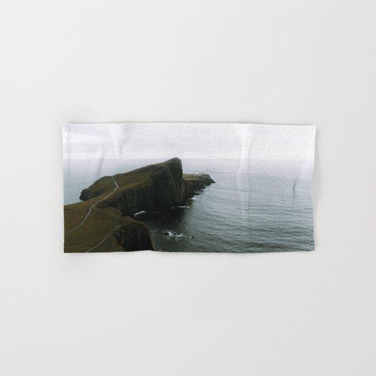 Neist Point Lighthouse II - Landscape Photography Hand & Bath Towel