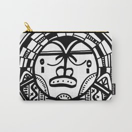 Happy People: Face 3 Carry-All Pouch