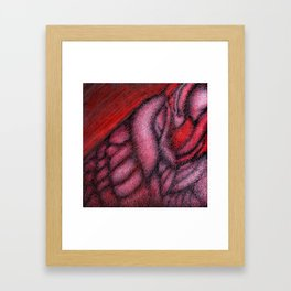 Guitar Wolf Part 2 Framed Art Print