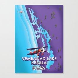 Vembanad Lake,India Canvas Print
