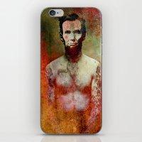 tatoo iPhone & iPod Skins featuring Abraham Tatoo by Ganech joe