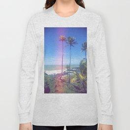Fragmented Palm Long Sleeve T-shirt