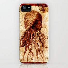 OctopuSkull iPhone Case