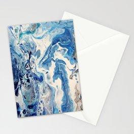 Fluid Seashore Stationery Cards