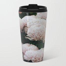 chrysanthemums Metal Travel Mug