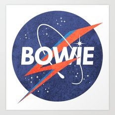 Iconic Bowie Art Print