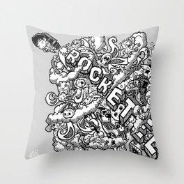 Rocketeer Throw Pillow