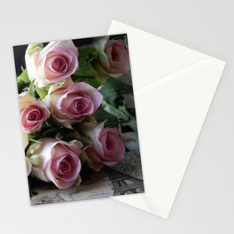 Roses From Paris Stationery Cards