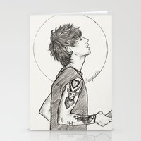 louis Stationery Cards featuring Louis by harrydoodles