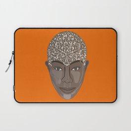 brown visage Laptop Sleeve