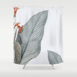 gentle palms Shower Curtain