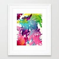 splatter Framed Art Prints featuring Splatter by Laurenlotz