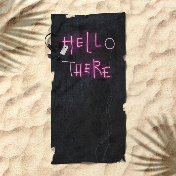 Hell Here Beach Towel