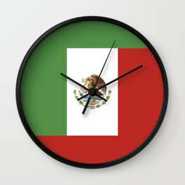 mexico country flag  Wall Clock