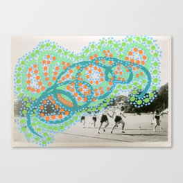 Imaginary Graffiti 005 Canvas Print