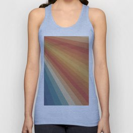 Retro 70s Sunrays Unisex Tank Top