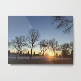 Morning Sunrise Metal Print