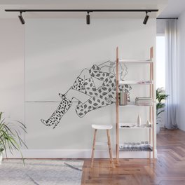Patterned fashion illustration Wall Mural