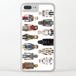 Rogue One Characters Clear iPhone Case