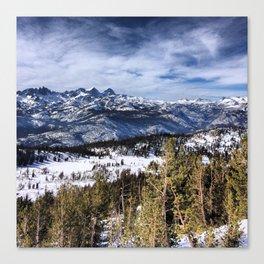 The Minarets, Sierra Nevada Mountains Canvas Print