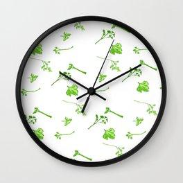 Celery Wall Clock