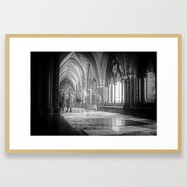 Elements of London III - Westminster Framed Art Print