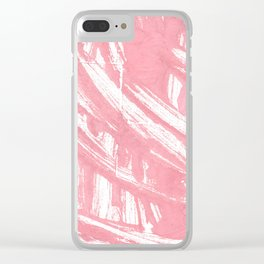 Mauvelous abstract watercolor Clear iPhone Case