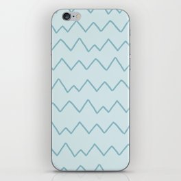 zigzag pattern (1) iPhone Skin