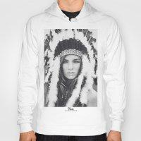 navajo Hoodies featuring Navajo by Jamie de Leeuw
