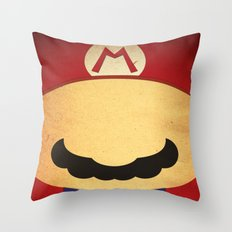 Minimal Player 1 Throw Pillow