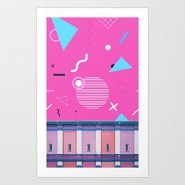 Memphis Sky Art Print
