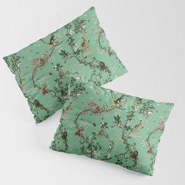 Monkey World Green Pillow Sham