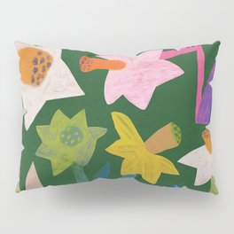 Daffodils and ladybird Pillow Sham
