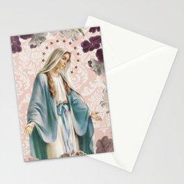 Medalla Milagrosa PINK Stationery Cards