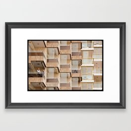 All Alone Framed Art Print