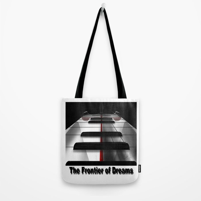 Piano - by HS Design Tote Bag