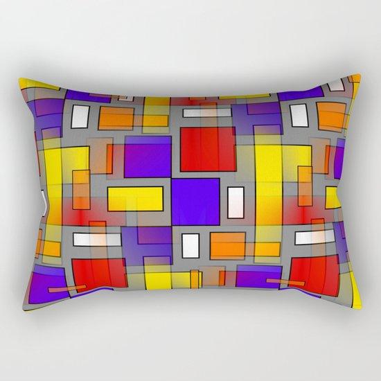 Color Mix Rectangular Pillow