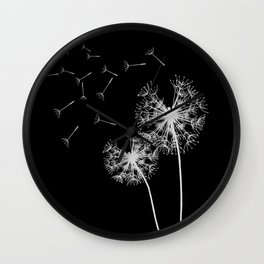 Pusteblumen Wall Clock