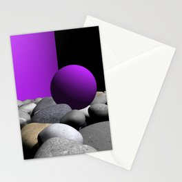 pink or violet -9- Stationery Cards