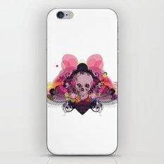Skull Rainbow iPhone & iPod Skin